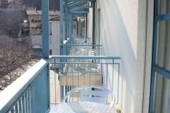 Aussenansicht Balkon